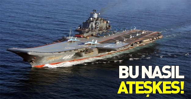 Tek faal uçak gemisini Suriye'ye gönderiyorlar!