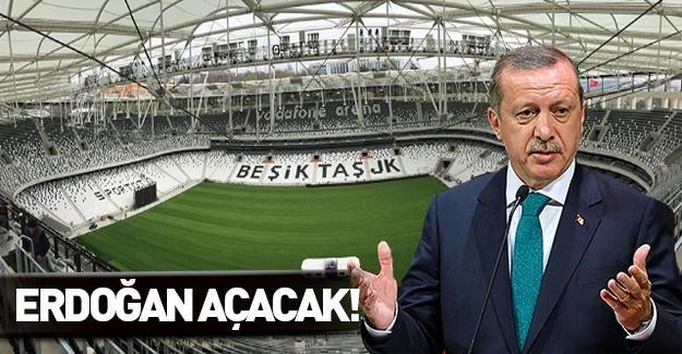 Türkiye'nin konuştuğu milyonluk stadın açılışını Erdoğan yapacak