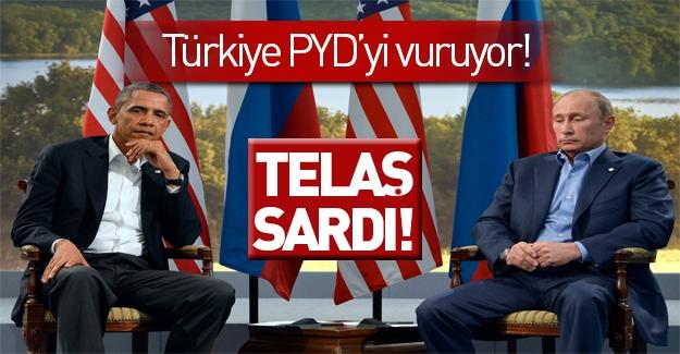 Türkiye'nin PYD operasyonu sonrası Obama ve Putin'i telaş sardı!