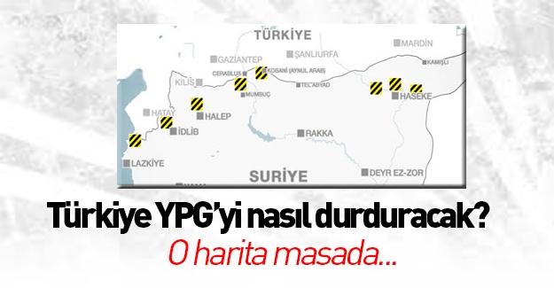 Türkiye Suriye'deki Kürtleri böyle durduracak!