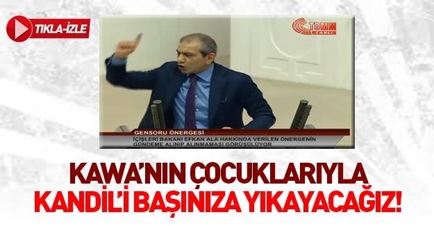 Zeyid Aslan'dan HDP'ye: Kürtler Kandil'i başınıza yıkacak