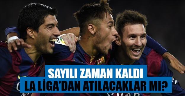 Barcelona La Liga'dan atılacak mı?