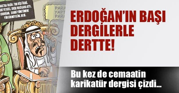 Cemaat dergisi kapağına Erdoğan'ı taşıdı!