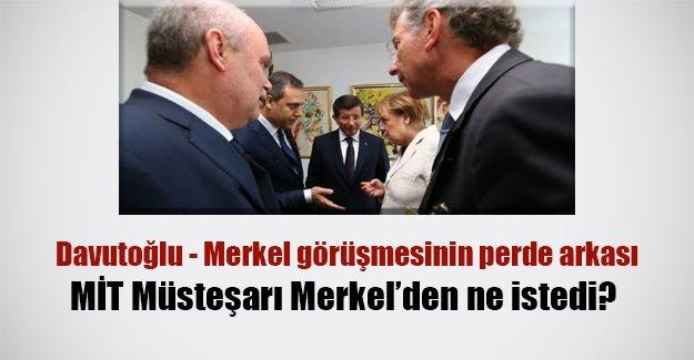 Davutoğlu ve ekibi Merkel'den ne istedi!?