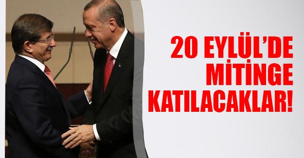 Erdoğan ve Davutoğlu İstanbul'da 'Milyonlarca Nefes Teröre Karşı Tek Ses' mitingine katılacak!