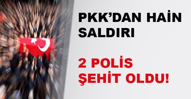 Hakkari'de mayın patladı! 2 polis şehit oldu 2 polis yaralandı...