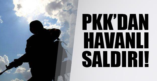 Hakkari'nin Yüksekova ilçesinde PKK'dan havanlı saldırı!