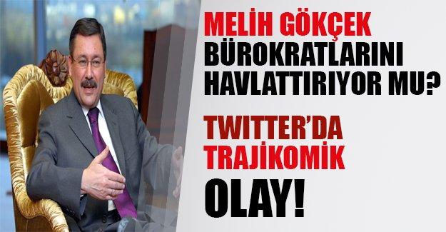 Melih Başkan bürokratlarını 'hav'lattırıyor mu? Twitter'da trajikomik olay...
