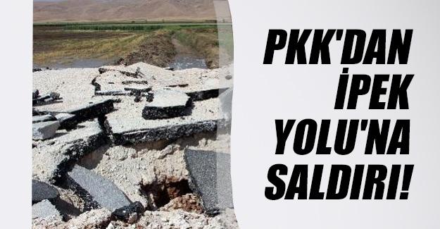 PKK'dan Nusaybin'de İpek Yolu'na bombalı saldırı! Son dakika gelişmesi...