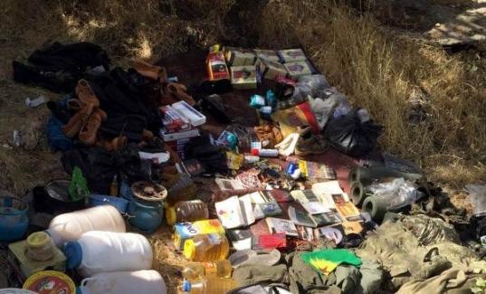 PKK'ya şok baskın! 4 sığınak ele geçirildi