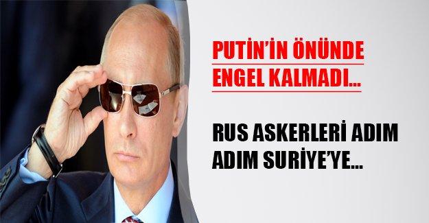 Rus muharip gücü adım adım Suriye'ye...