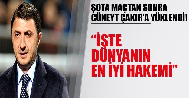 Shota Cüneyt Çakır'a veryansın etti