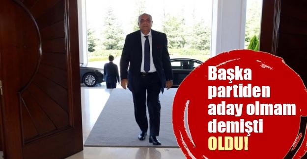 Tuğrul Türkeş AK Parti'den resmen aday oldu