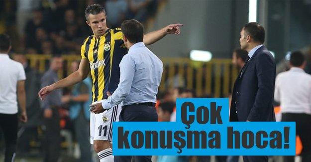 Van Persie ve Pereira neden tartıştı? Mehmet Demirkol açıkladı...