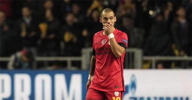 """Wesley Sneijder'den Astana maçı sonrasında flaş açıklama! """"Sorun nedir bilmiyorum ama..."""""""