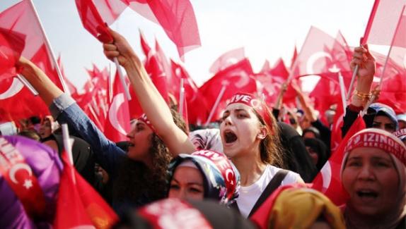 Yenikapı'daki dev miting başladı!