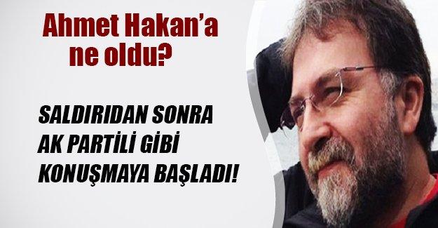 Ahmet Hakan AK Partili gibi konuşmaya başladı! İşte saldırıdan sonra attığı ilk tweet...