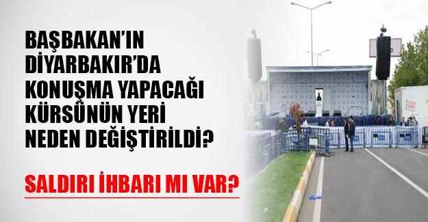 AK Parti'nin Diyarbakır mitinginde bomba ihbarı mı yapıldı? Platformun yeri neden değiştirildi?