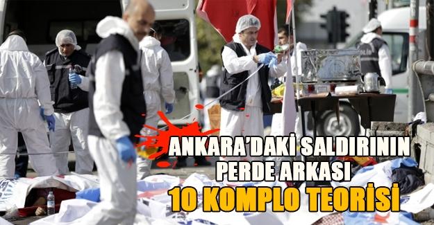 Ankara'daki canlı bomba saldırısının perde arkası! İşte 10 komplo teorisi