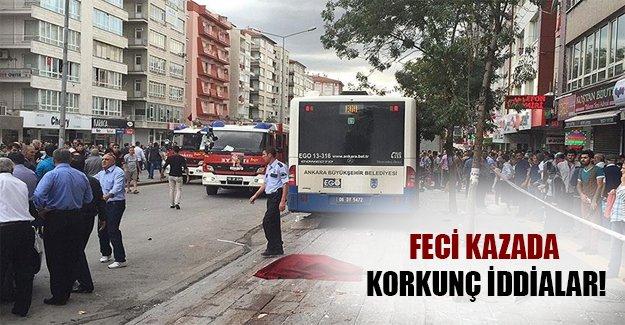 Ankara'daki feci kazada şok iddilar! Şoförler tecrübesiz...