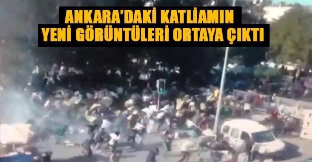 Ankara'daki katliamın yeni görüntüleri ortaya çıktı! Bu görüntüler ilk kez yayınlandı