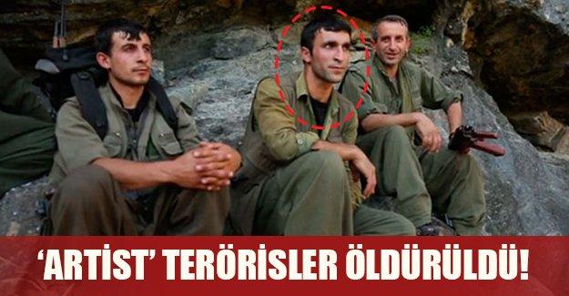 'Artist' teröristler öldürüldü!