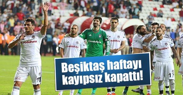 Beşiktaş Antalya deplasmanında gol şov yaptı! Maç kaç kaç bitti? Golleri kim attı?