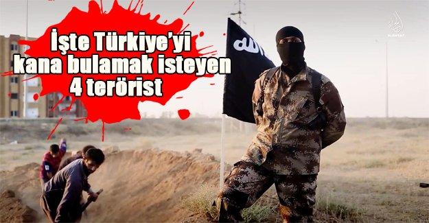 Bu teröristler her yerde aranıyor! İşte Türkiye'yi kana bulamaya hazırlanan 4 isim