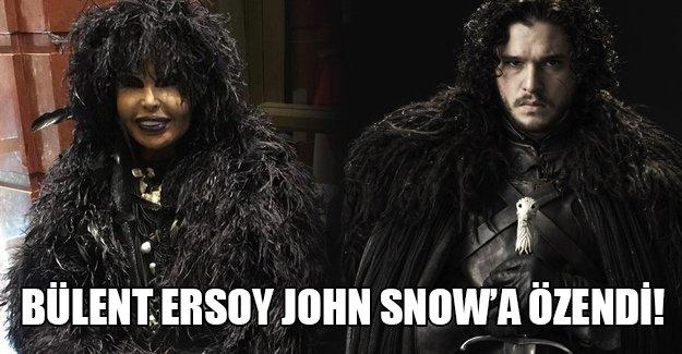 Bülent Ersoy John Snow hayranı çıktı! İşte Ersoy'un Paris'te özel olarak yaptırdığı yeni kostümü!