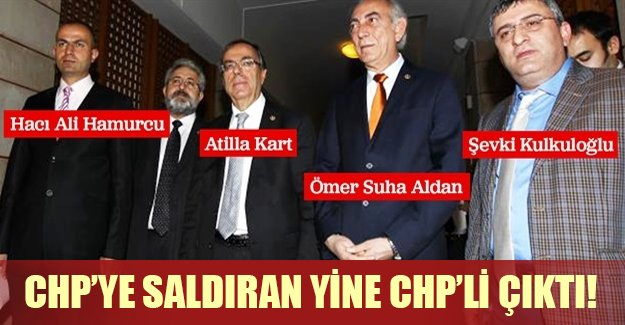 CHP binasına saldıran isim şok etkisi yarattı! CHP'ye saldıran yine CHP'li çıktı! (Son dakika gelişmesi)