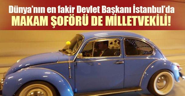 """""""Dünya'nın en fakir lideri"""" İstanbul'da! Jose Mujica kimdir? Jose Mujica'nın makam şoförlüğünü kim yaptı?"""