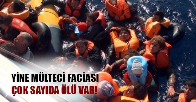 Ege'de yine bir mülteci faciası! Çok sayıda ölü var! (Flaş son dakika gelişmesi)