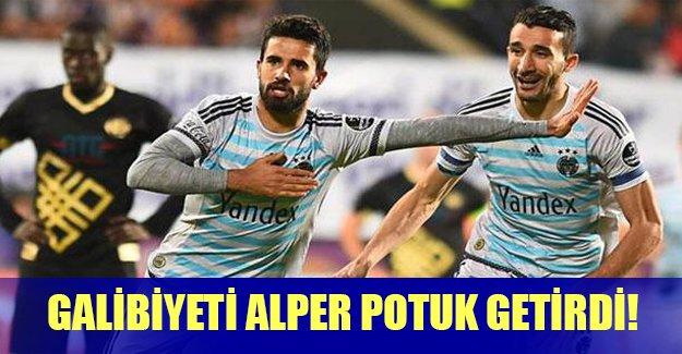 Fenerbahçe Alper Potuk'la güldü! Fenerbahçe 1 - Osmanlıspor: 0