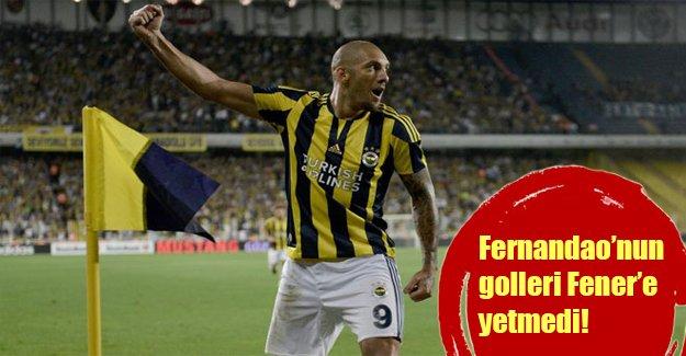 Fenerbahçe evinde kayıp! Sarı lacivertliler sahasında iki puan bıraktı