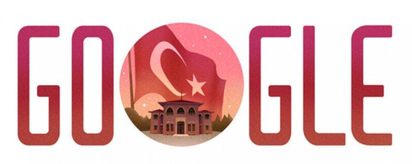 Google 29 Ekim'i unutmadı! İşte Google'ın 29 Ekim doodle'ı...