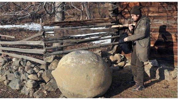 İlginç soygun! Hocavakıf Köyü'nde 1 tonluk taşı çaldılar!