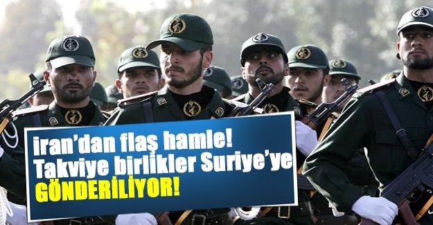 İran'dan flaş açıklama! Suriye'deki asker sayısını artırılıyor