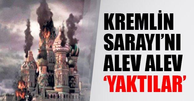 IŞİD Kremlin Sarayı'nı alev alev 'yaktı'