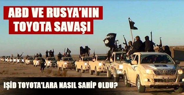 IŞİD nasıl Toyota'lara sahip oldu? ABD'nin parmağı var mıydı?