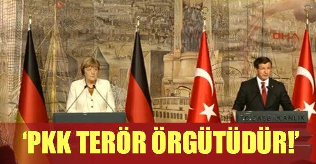İstanbul'a gelen Merkel'den flaş açıklamalar!