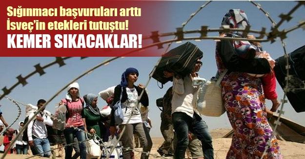 İsveç'in etekleri tutuştu! Sığınmacı başvuruları nedeniyle tasarrufa gidildi!
