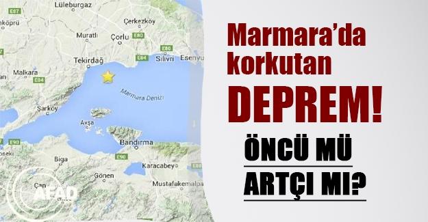 Marmara'da korkutan deprem! Deprem İstanbul'da da hissedildi! İşte son durum