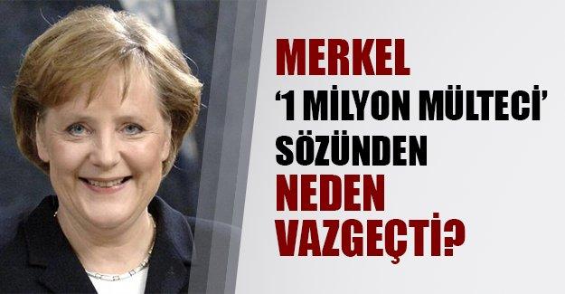 """Merkel bugün Türkiye'de! Peki Almanya Başbakanı """"1 milyon mülteci"""" sözünden neden döndü?"""