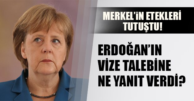 """Merkel'in etekleri tutuştu! Almanya Başbakanı Erdoğan'ın hangi talebine """"tamam"""" dedi?"""