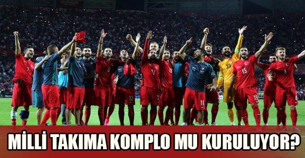 Milli takımı saha dışında mı yenmeye çalışıyorlar? Bakın Hollanda teknik direktörü ne yaptı!