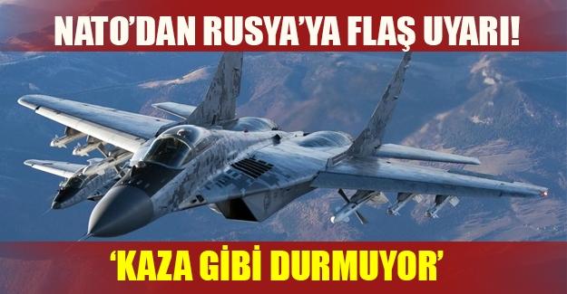 NATO'dan Suriye açıklaması! Rus uçakları bilerek Türkiye sınırını ihlal ediyor