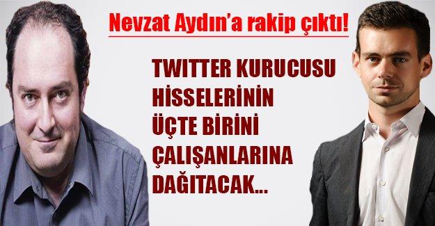 Nevzat Aydın'a rakip çıktı! Twitter kurucusu hisselerinin üçte birini çalışanlarıyla paylaşacak