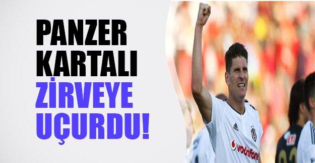 Panzer Kartal'ı zirveye uçurdu! Beşiktaş zorlu deplasmanda 3 puanla ayrıldı