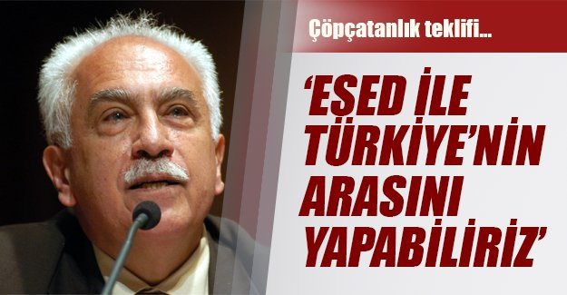 Perinçek'in partisinden çöpçatanlık teklifi!