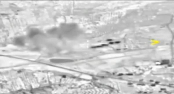 Rus jetleri Suriye'deki IŞİD ve El-Kaide hedeflerini bombaladı! İşte o görüntüler...